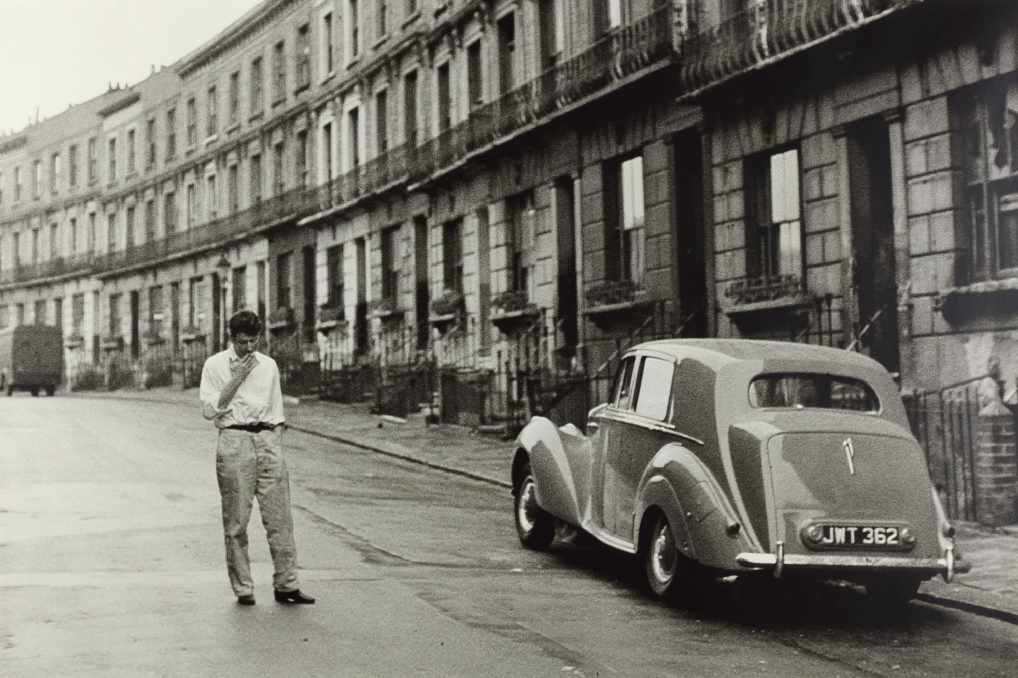LORD SNOWDON | LUCIAN FREUD, PADDINGTON, LONDON, 1963