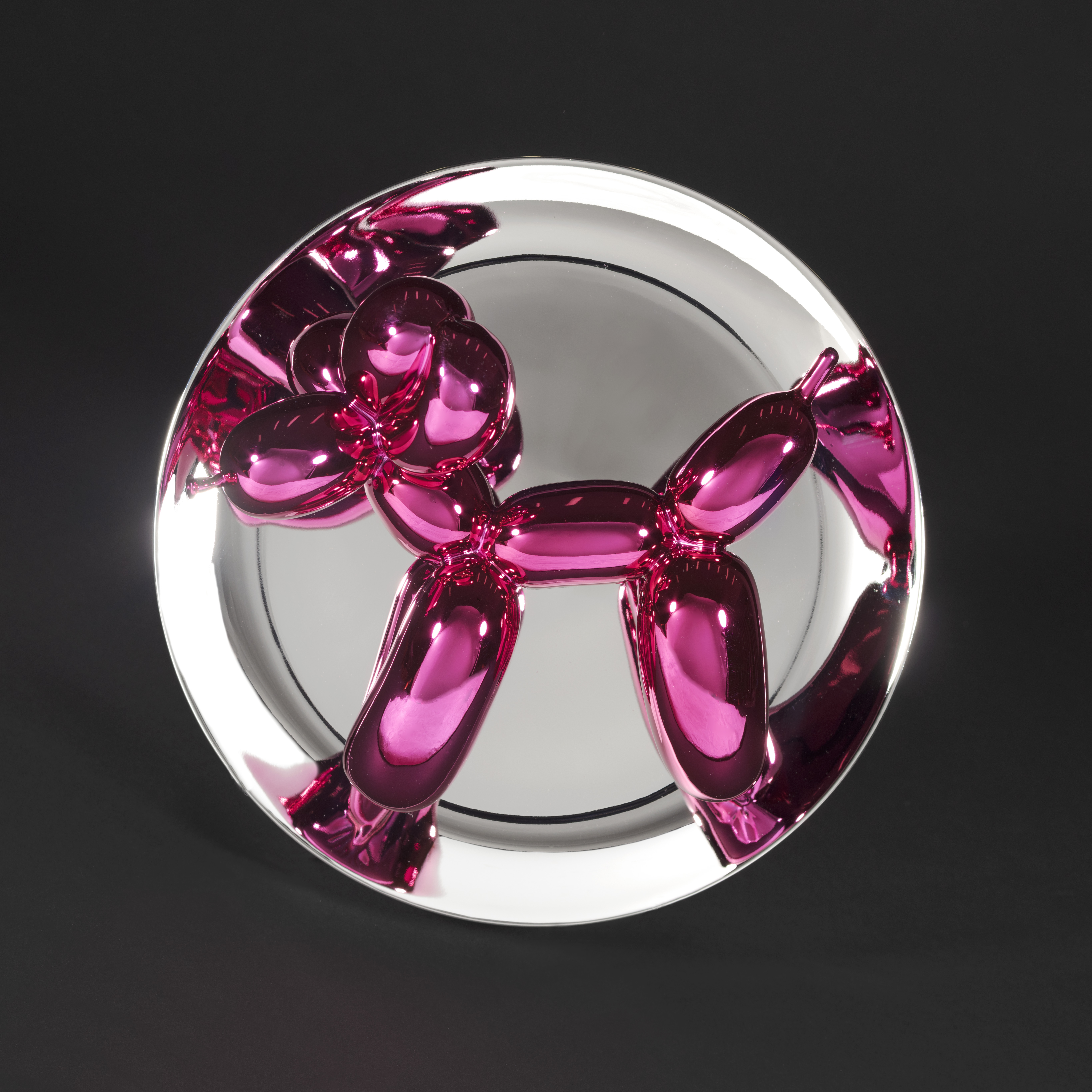View full screen - View 1 of Lot 10. Balloon Dog (Magenta).