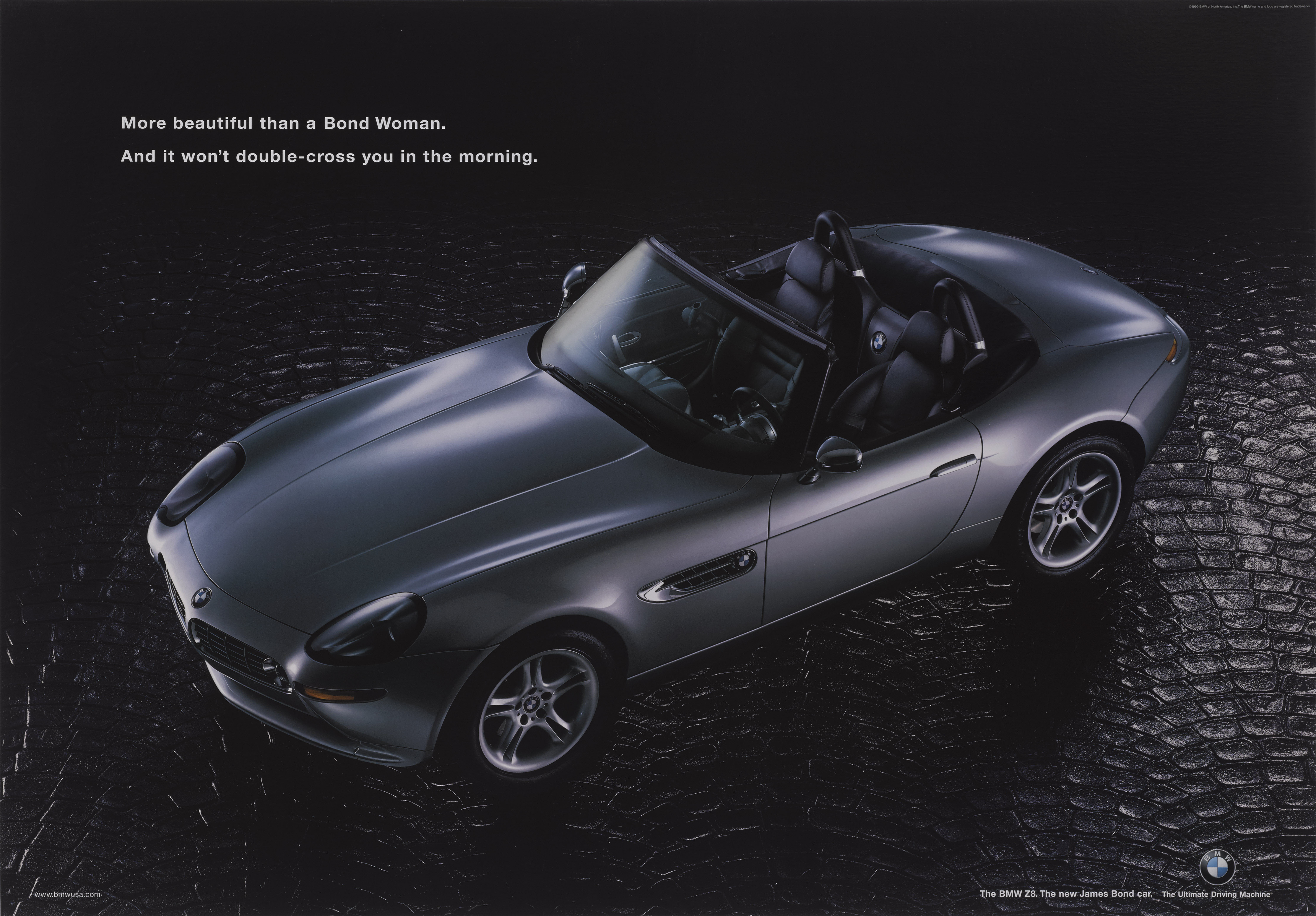 THE WORLD IS NOT ENOUGH (1999) POSTER, BRITISH, TIE-IN WITH BMW