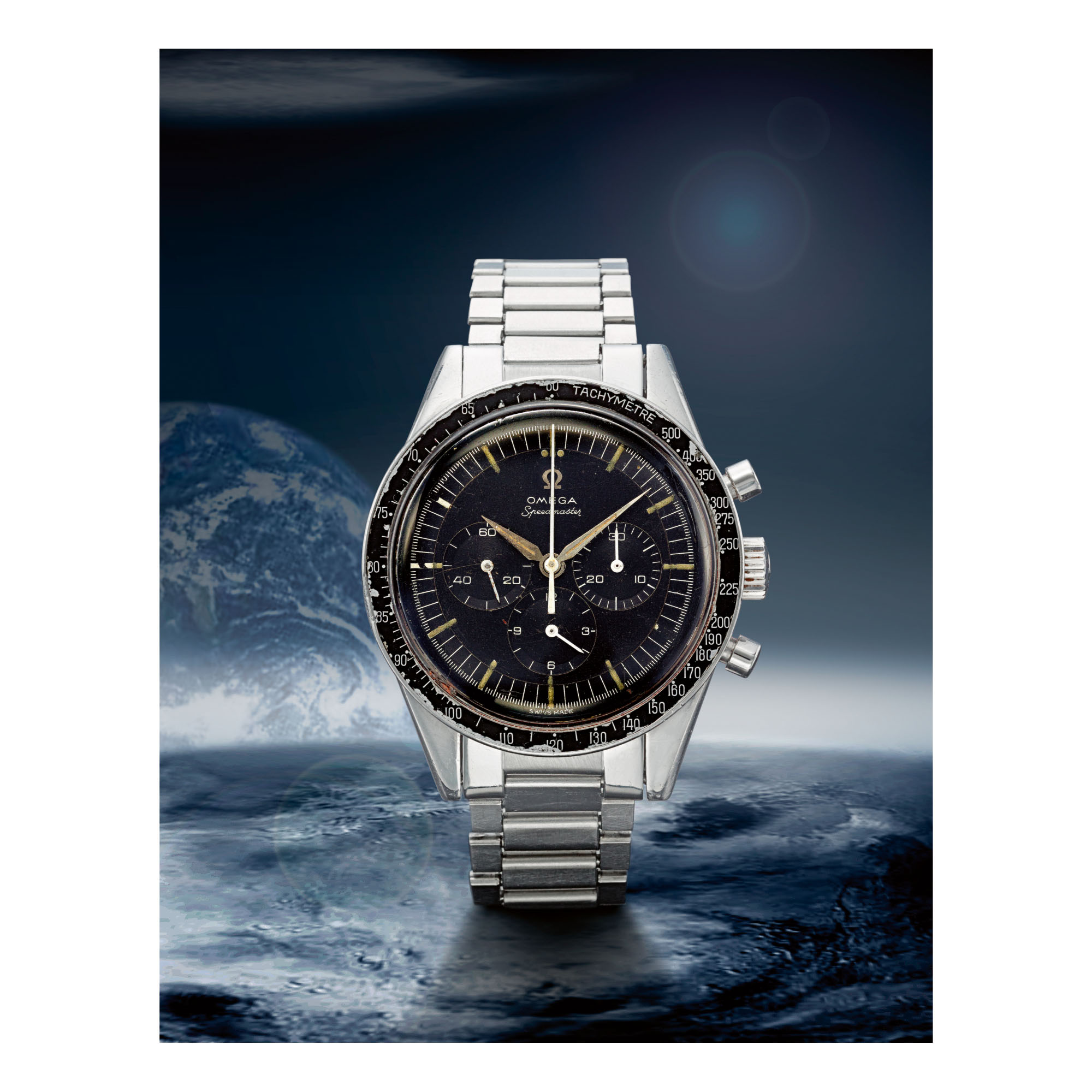 OMEGA | SPEEDMASTER REF 2998-61, A STAINLESS STEEL CHRONOGRAPH WRISTWATCH WITH BRACELET, MADE IN 1962