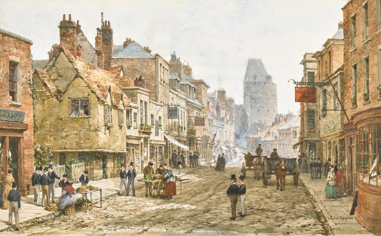 LOUISE RAYNER | The High Street at Eton