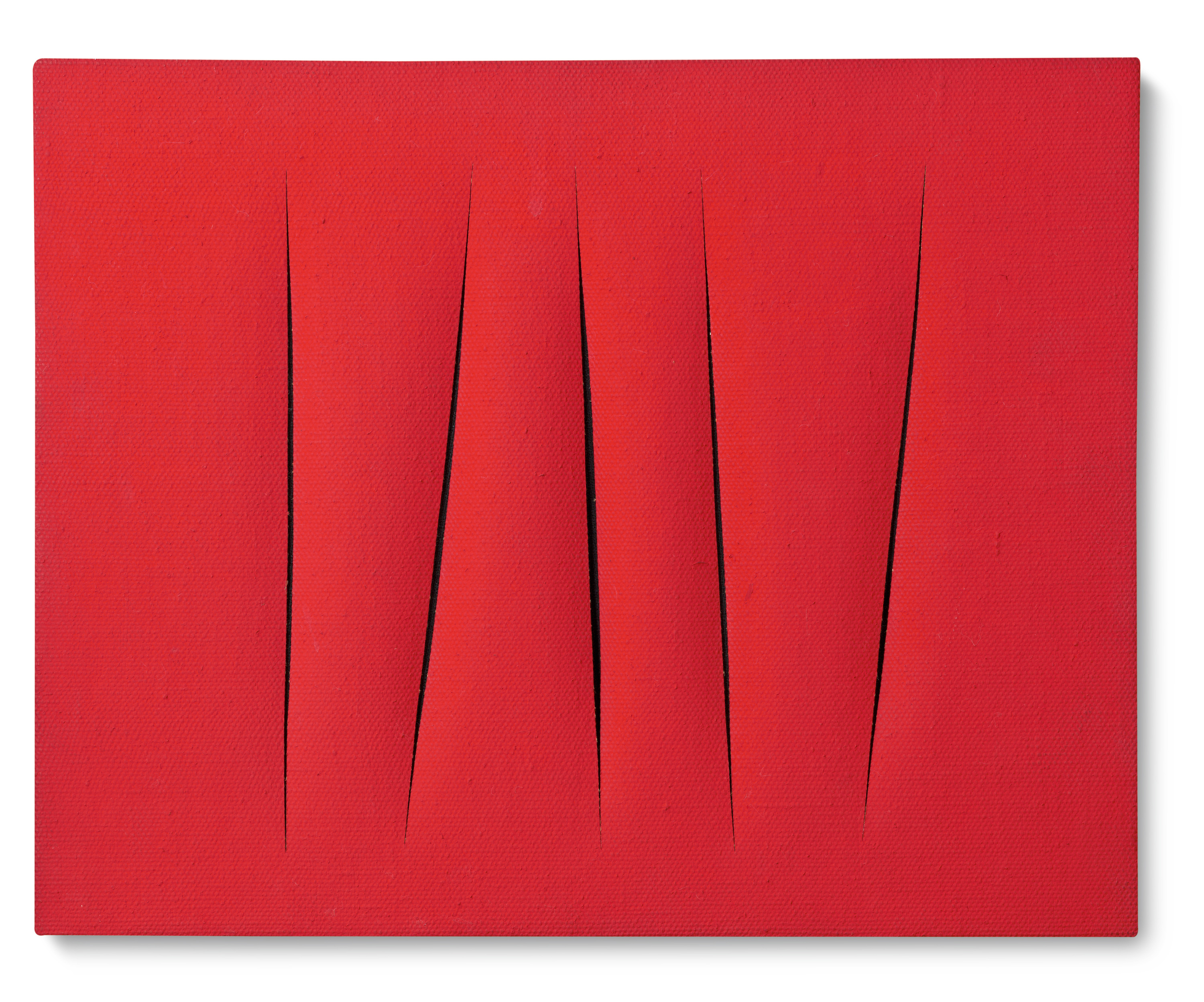 View full screen - View 1 of Lot 119.  LUCIO FONTANA | CONCETTO SPAZIALE, ATTESE.