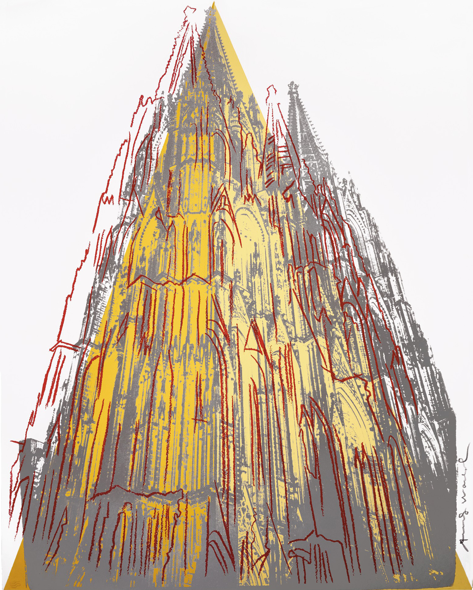 ANDY WARHOL | COLOGNE CATHEDRAL (SEE F. & S. IIB.361-364)