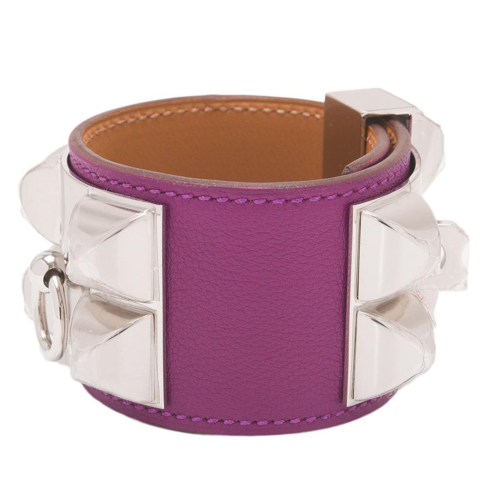 Hermès Anemone Collier de Chien (CDC) of Swift Leather with