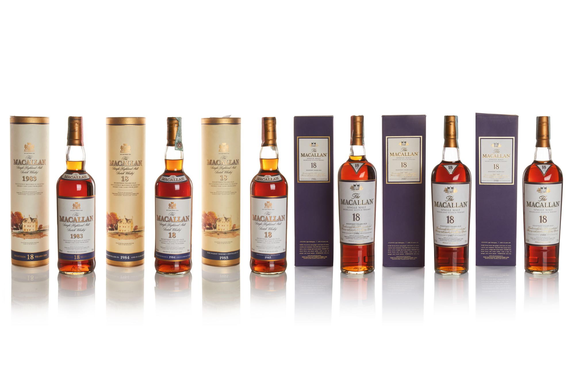THE MACALLAN 18 YEAR OLD 43.0 ABV
