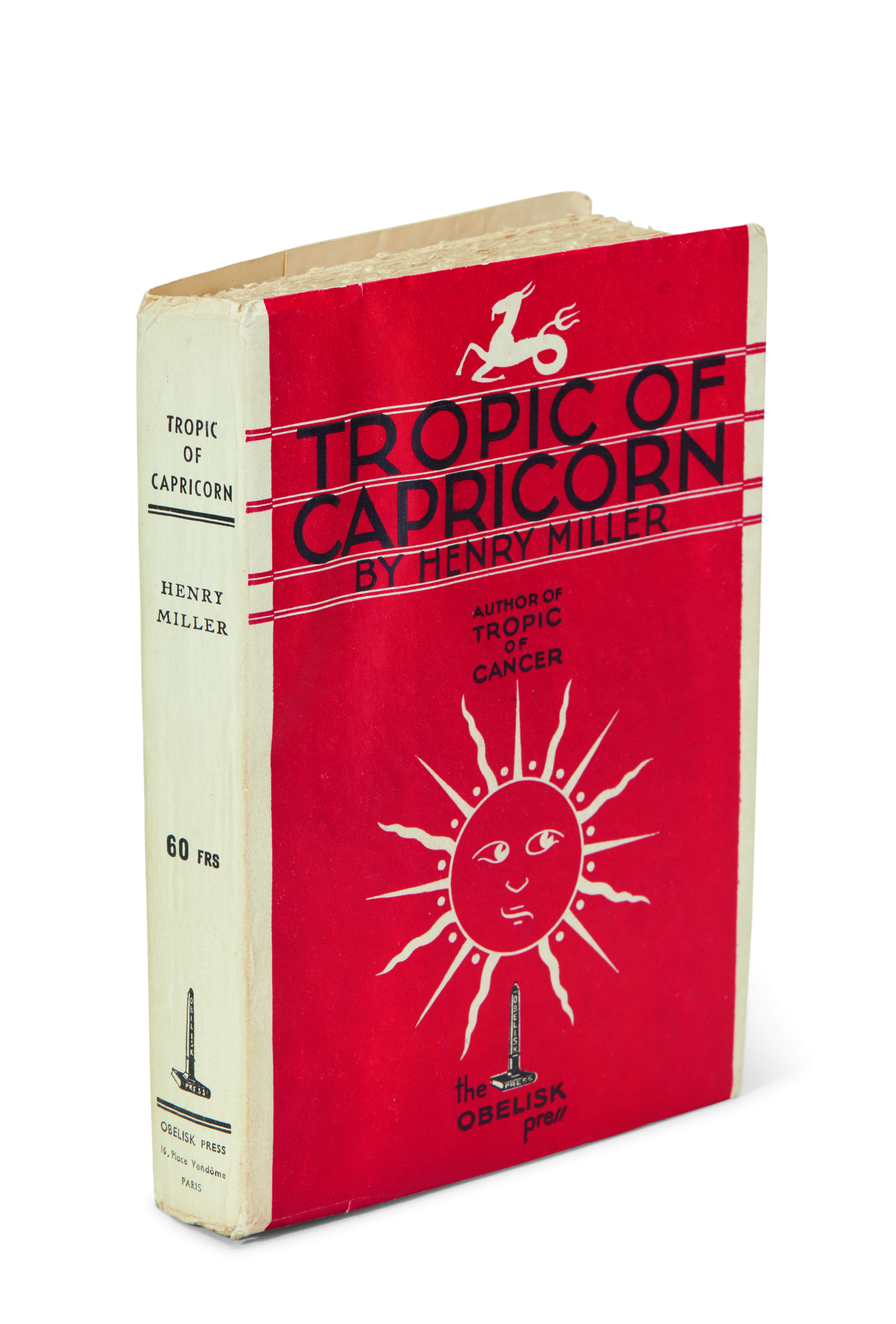View full screen - View 1 of Lot 187. Miller, Tropic of Capricorn, 1939, inscribed.