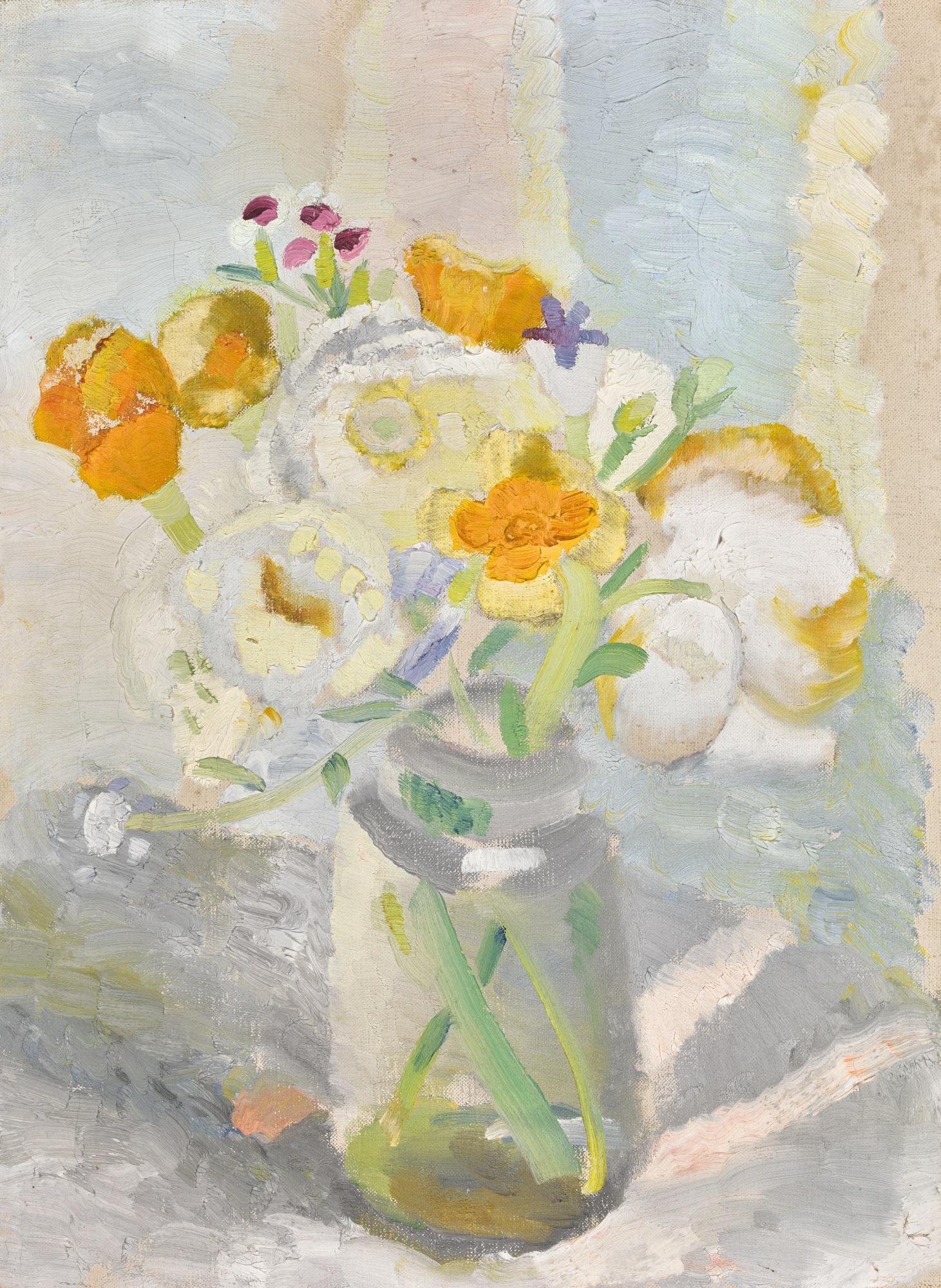 WINIFRED NICHOLSON   FLOWERS IN A JAM JAR