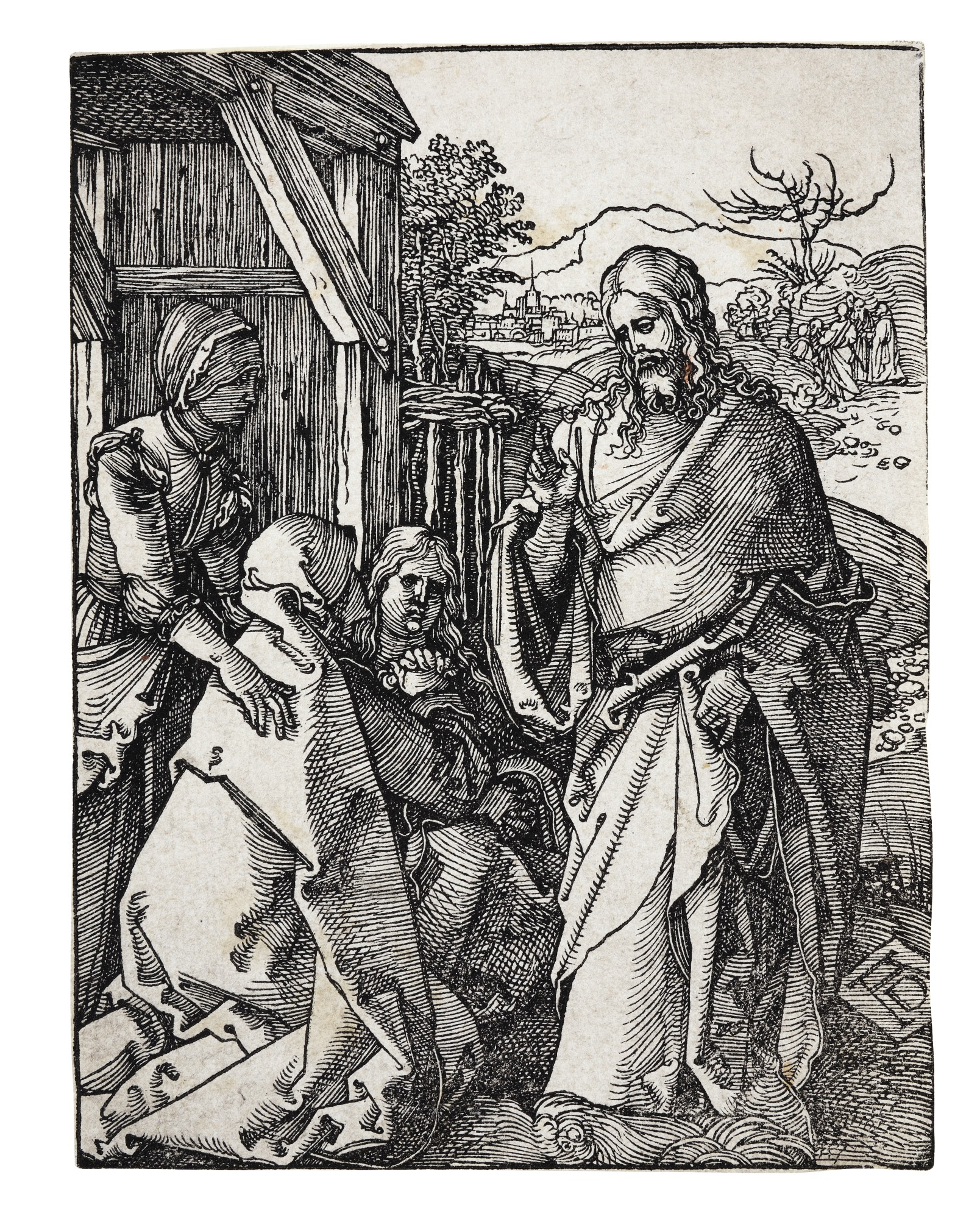 ALBRECHT DÜRER | CHRIST TAKING LEAVE OF HIS MOTHER; AND THE ASCENSION (B. 21, 50; M., HOLL. 132, 159)