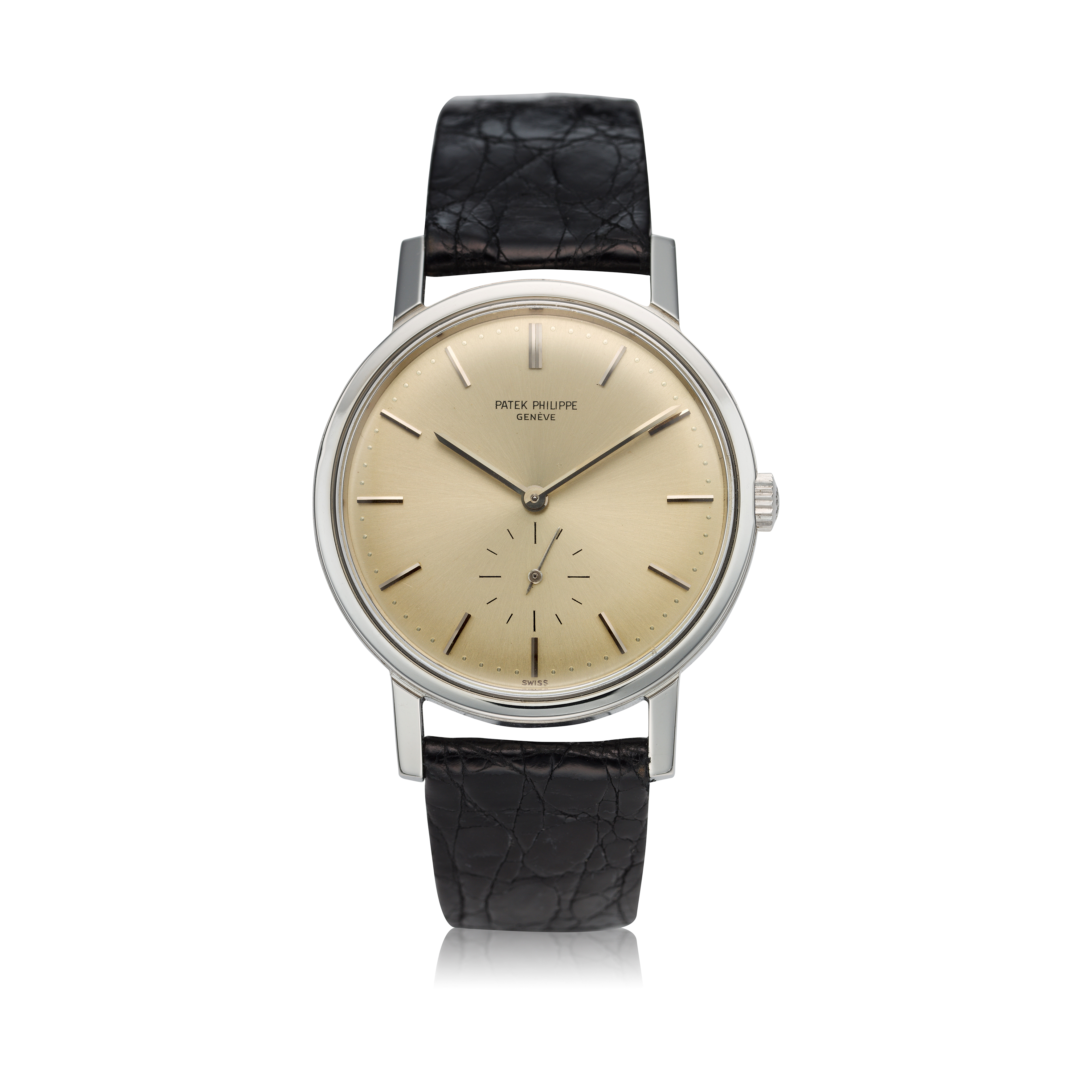 View full screen - View 1 of Lot 237. Reference 3466  A stainless steel automatic wristwatch, Made in 1963.