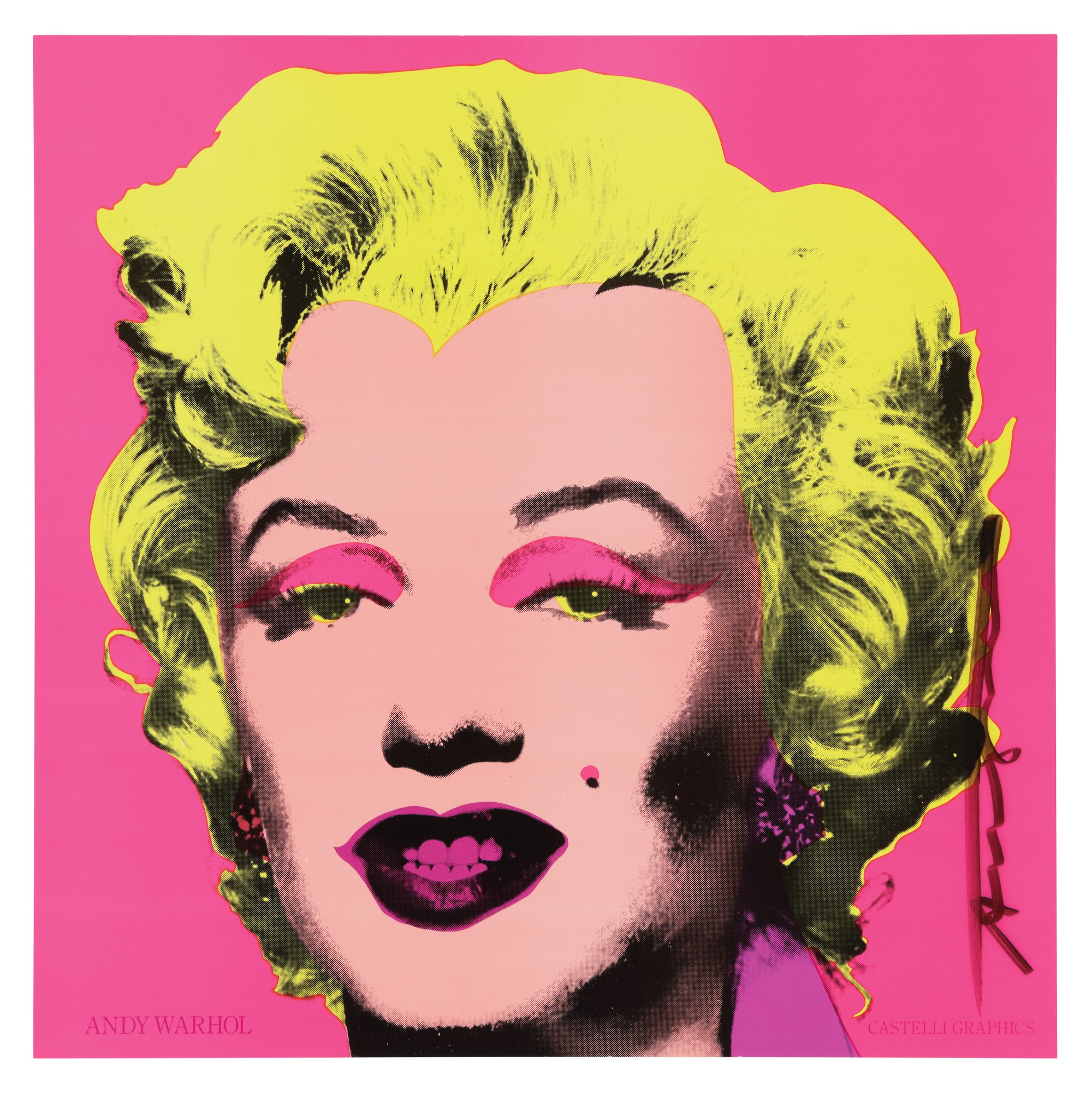 ANDY WARHOL | MARILYN (ANNOUNCEMENT) (NOT IN FELDMAN & SCHELLMANN)