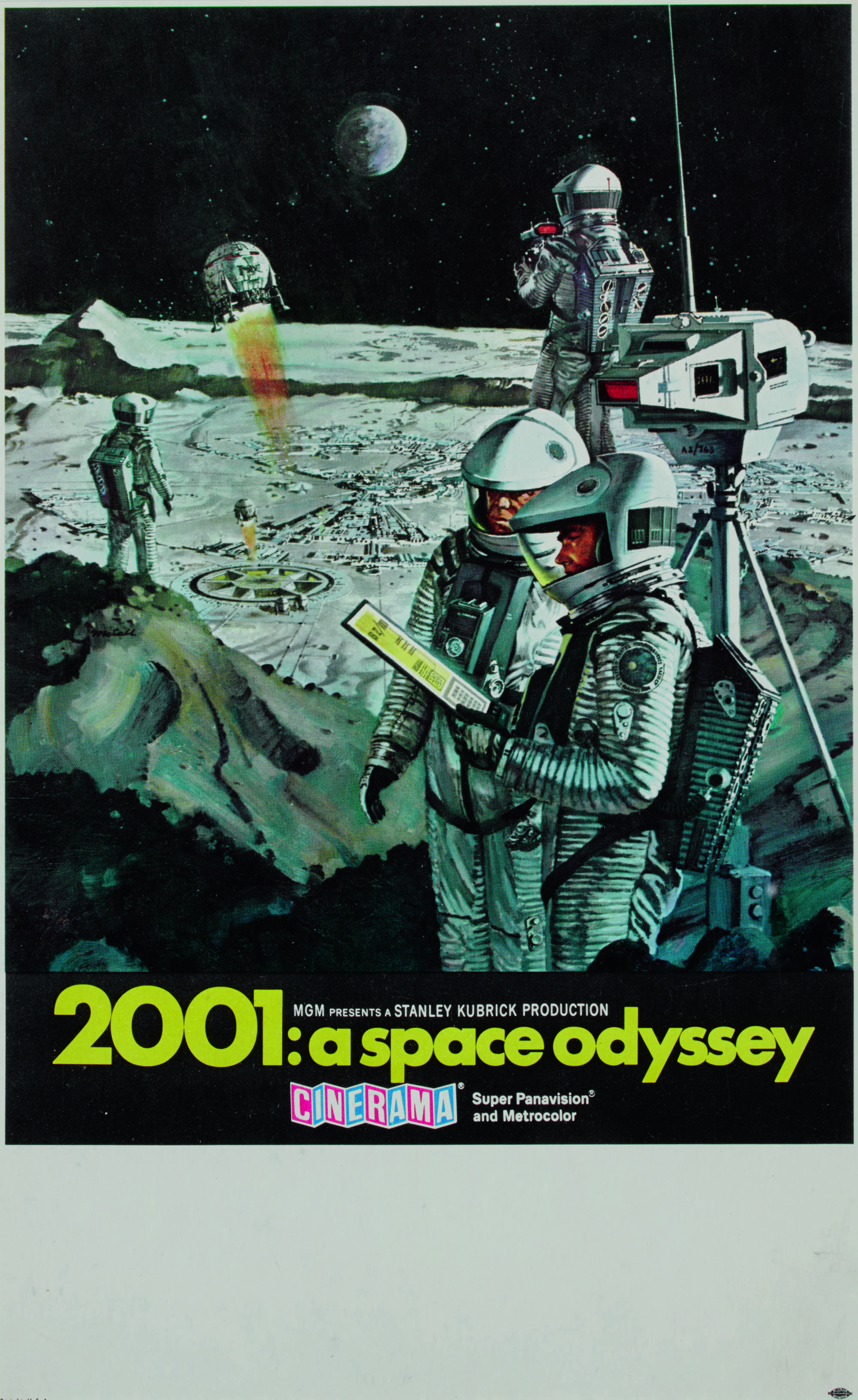 2001: A SPACE ODYSSEY (1968), POSTER, US