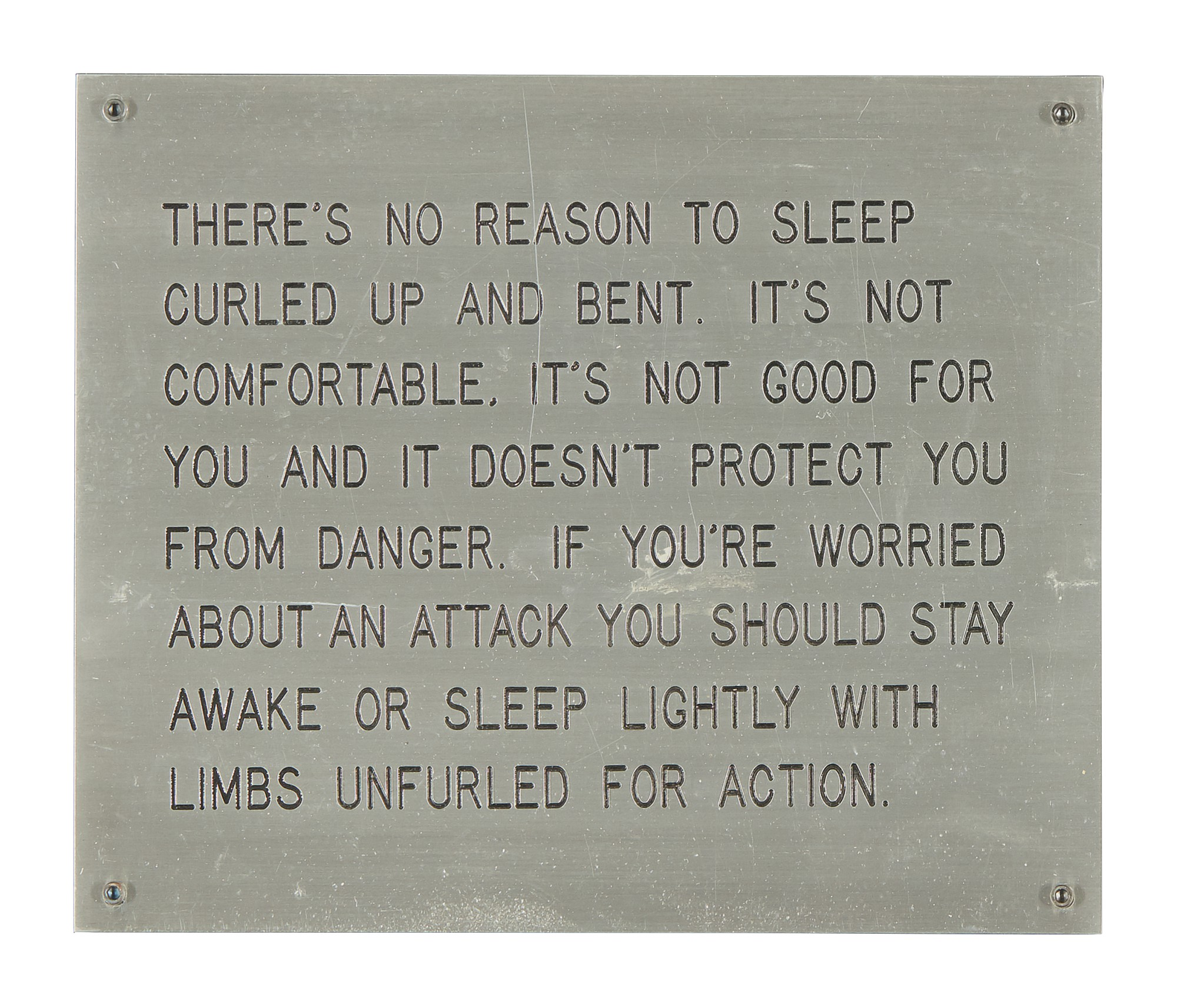 JENNY HOLZER | UNTITLED (FROM THE LIVING SERIES)