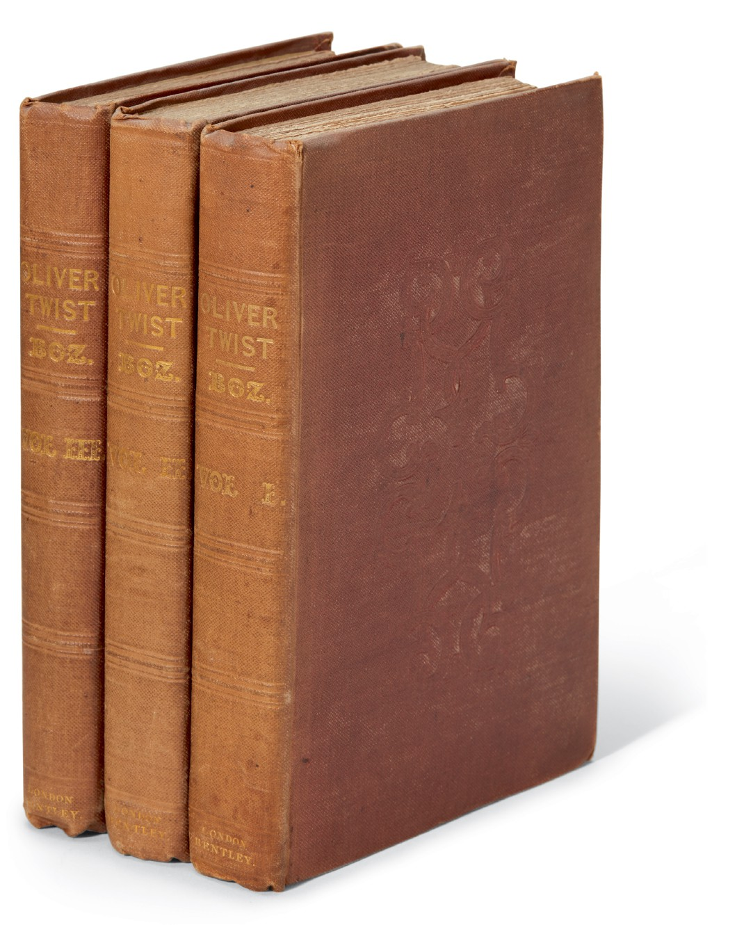 Dickens, Oliver Twist, 1838, first edition, second issue