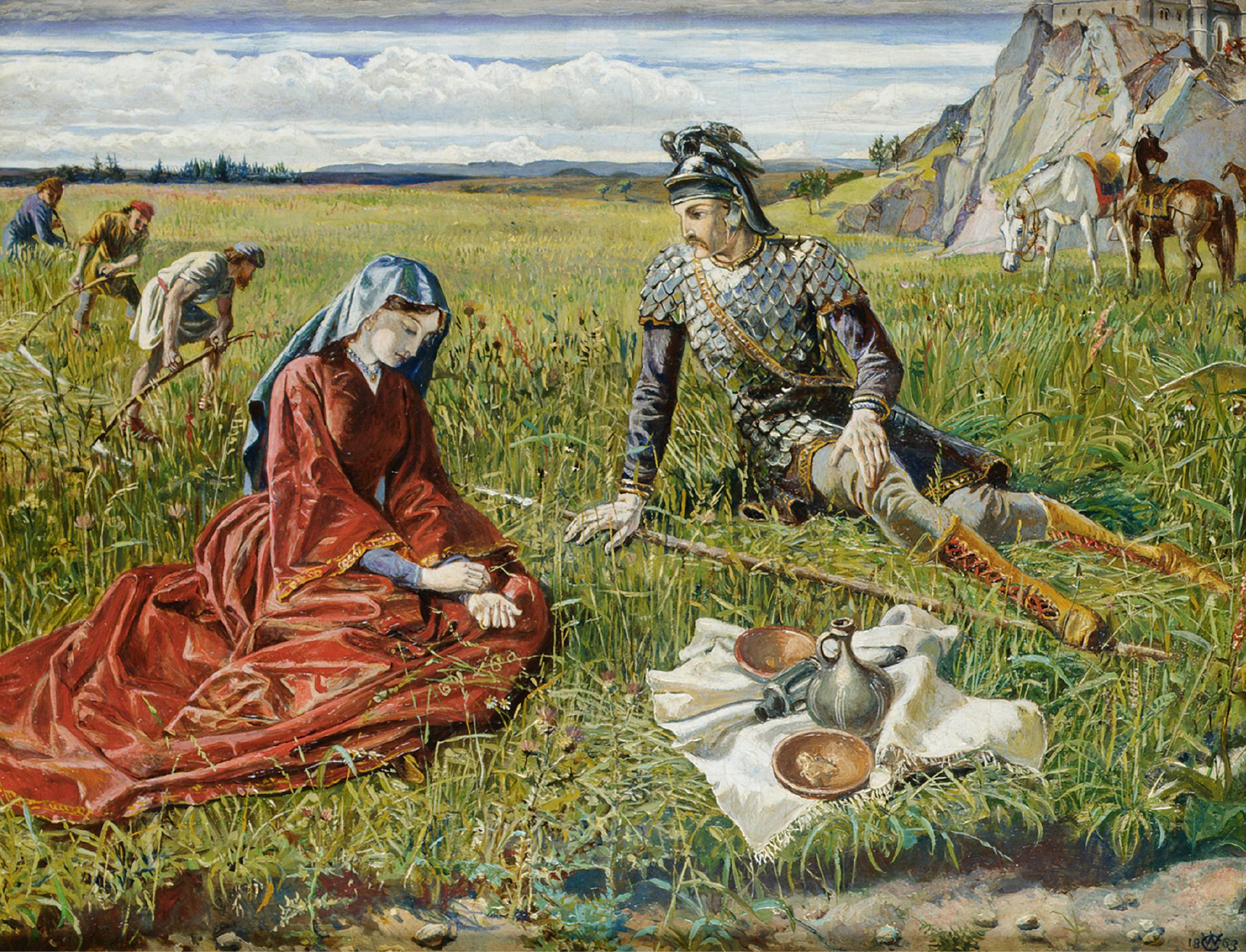 WALTER CRANE, R.W.S. | Ruth and Boaz
