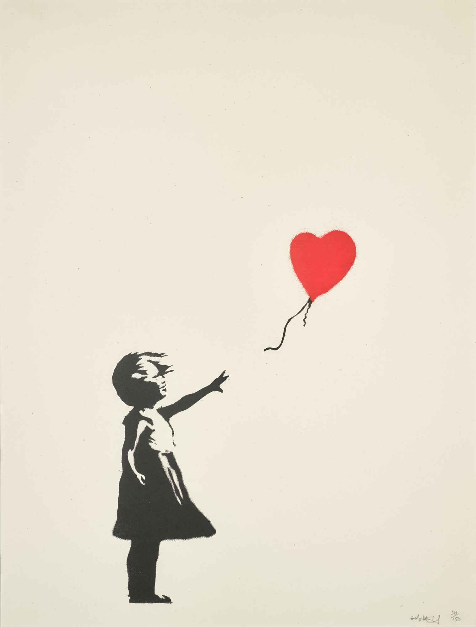 BANKSY | GIRL WITH BALLOON | Banksy | Online 2019 | Sotheby's