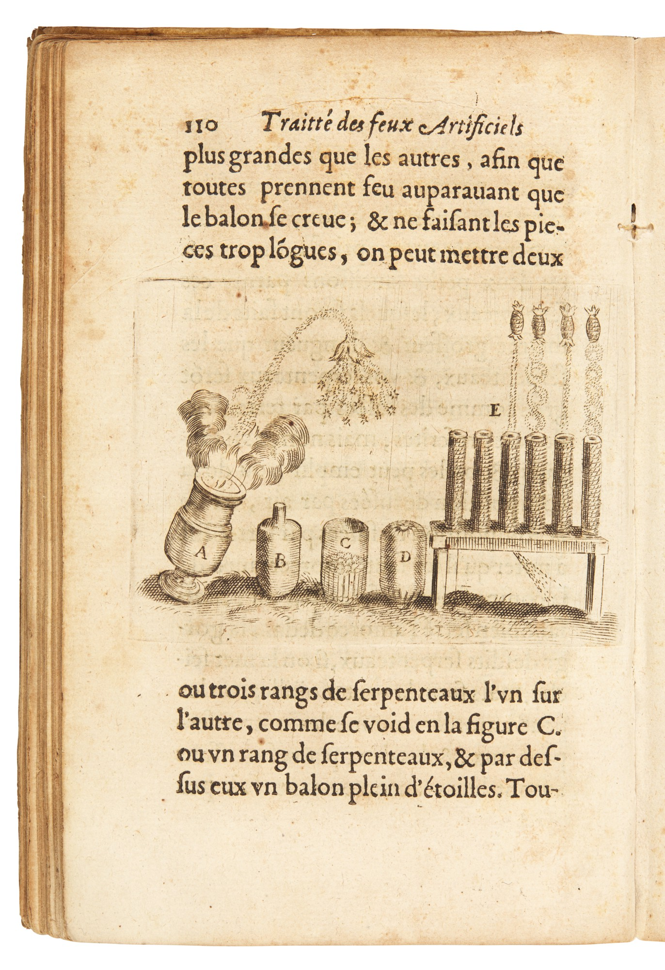 Artillery and fireworks, 2 works, by Rivault and Malthus, contemporary vellum