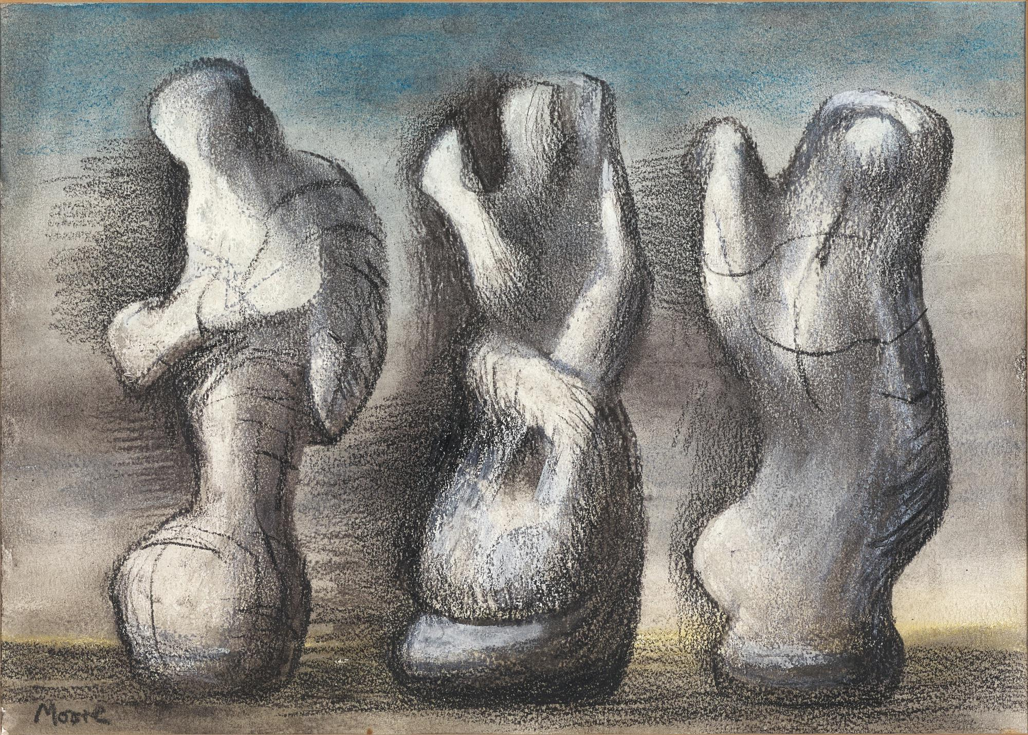 HENRY MOORE | THREE IDEAS FOR SCULPTURE