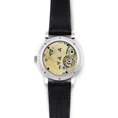 View 3. Thumbnail of Lot 2022. A. Lange & Söhne | 1815, Reference 233.025, A brand new limited edition platinum wristwatch, Circa 2009 | 朗格 | 1815 型號233.025 全新限量版鉑金腕錶,約2009年製.