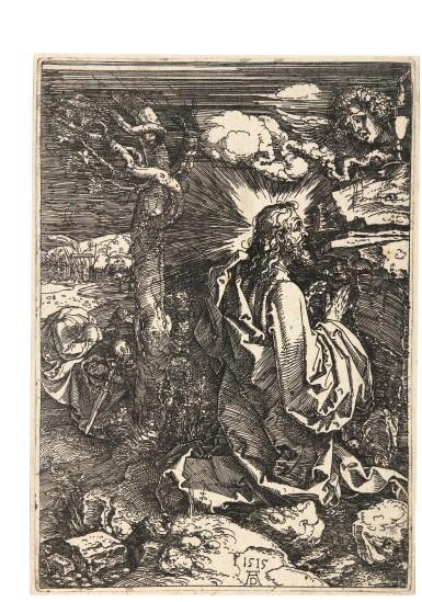 ALBRECHT DÜRER | CHRIST ON THE MOUNT OF OLIVES (B., M., HOLL. 19)