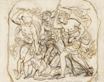 KARL PAVLOVICH BRIULLOV |  A COLLECTION OF 52 DRAWINGS AND SKETCHES, SOME OF WHICH DOUBLE-SIDED