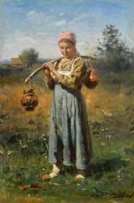 VLADIMIR EGOROVICH MAKOVSKY |Peasant Girl