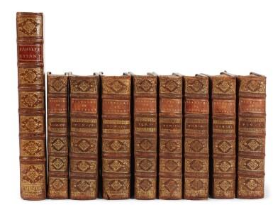 View 2. Thumbnail of Lot 167. Du Cange | Historia Byzantina, 1680 | Cousin, Histoire de Constantinople, 1672-74, 8 volumes.
