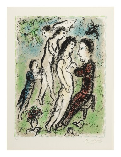 View 1. Thumbnail of Lot 61. MARC CHAGALL | YOUTH (M. 1048).