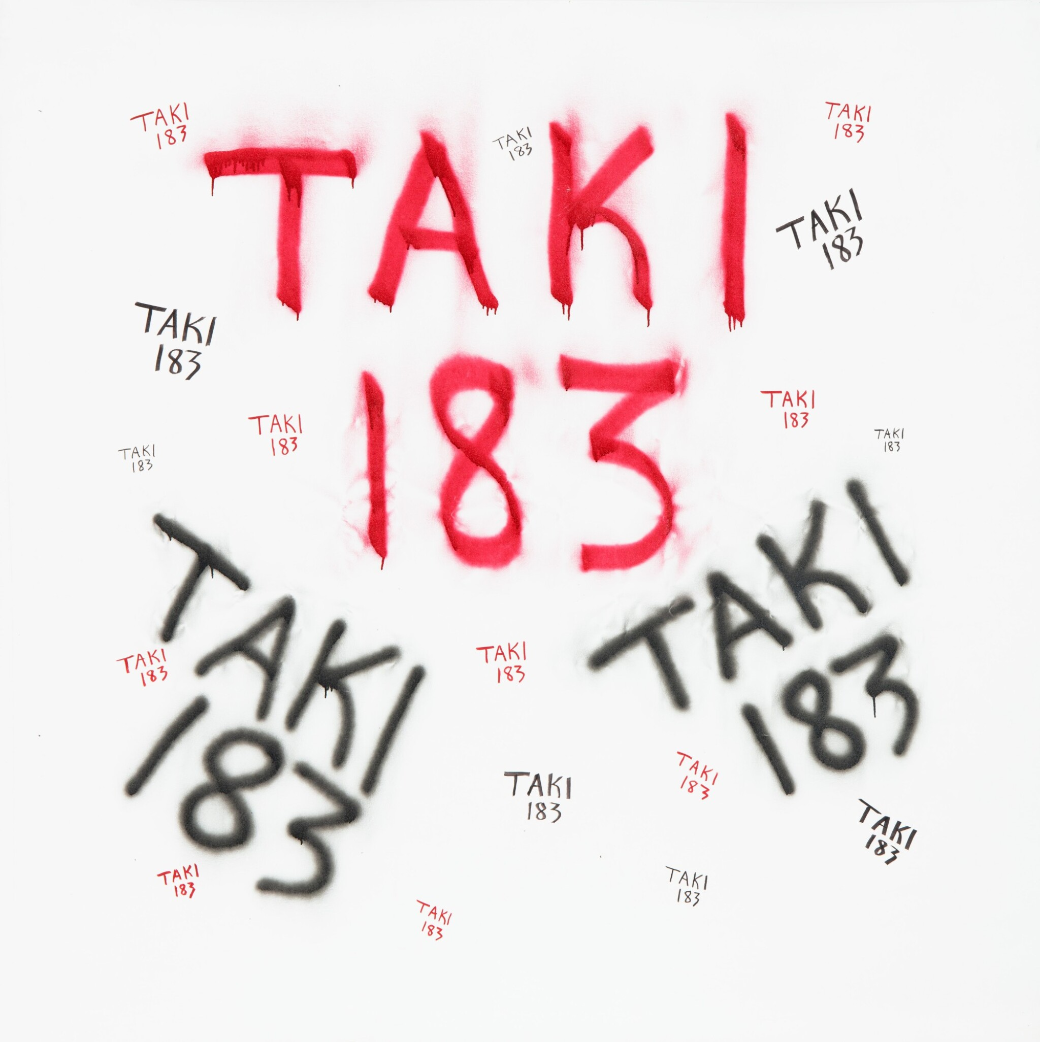 View full screen - View 1 of Lot 43. TAKI 183 | UNTITLED.