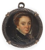 ATTRIBUTED TO FRANS POURBUS THE ELDER | Portrait of a lady, traditionally identified as Mary Queen of Scots