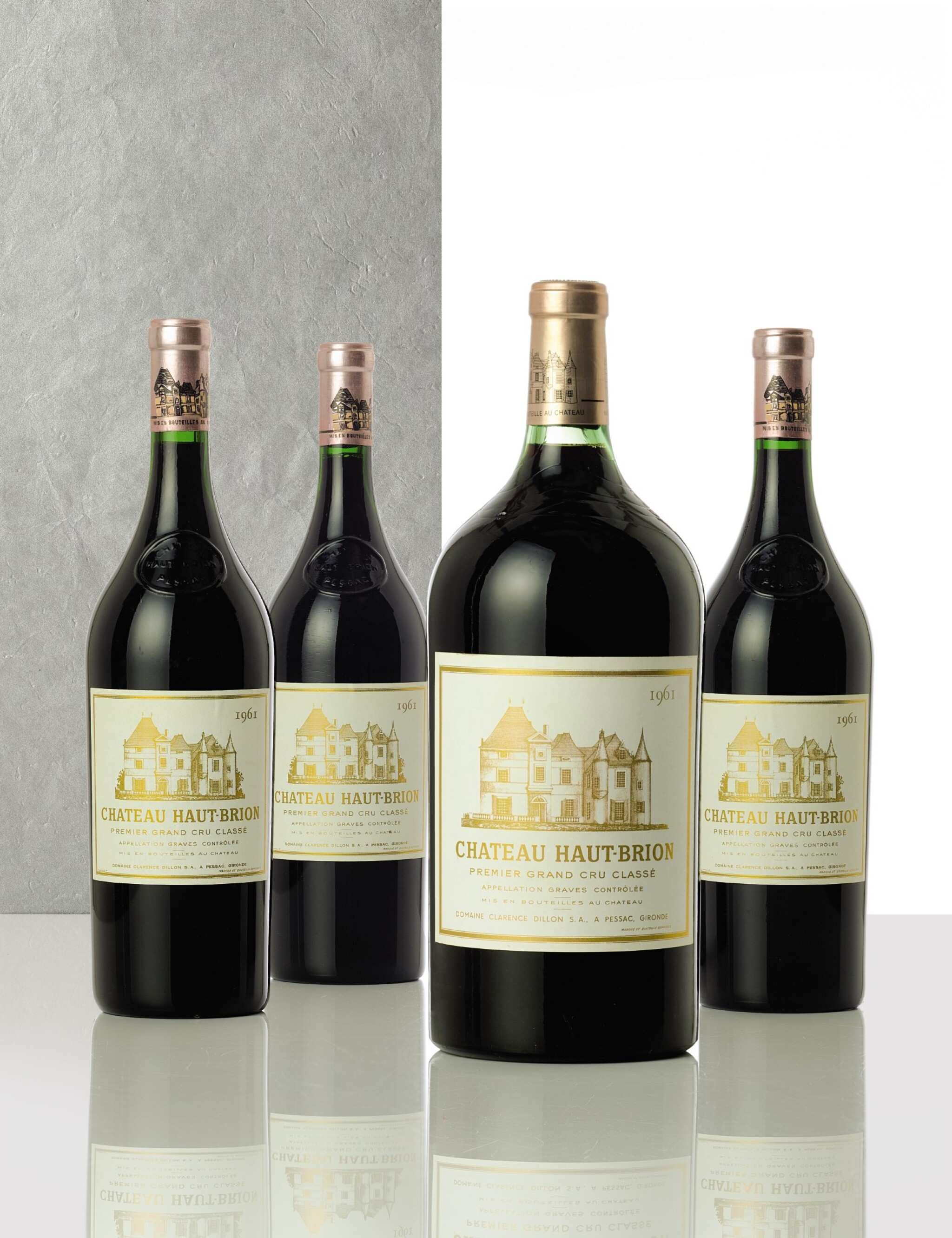 View full screen - View 1 of Lot 3214. Château Haut Brion 1961  (3 MAG).