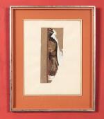GUSTAVE MIKLOS |  PROFIL OF A BAOULÉ WOMAN [FEMME BAOULÉ DE PROFIL]