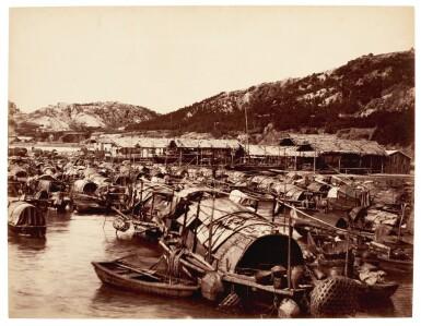 Hong Kong | 50 photographs and 2 panoramas, c.1870-1900