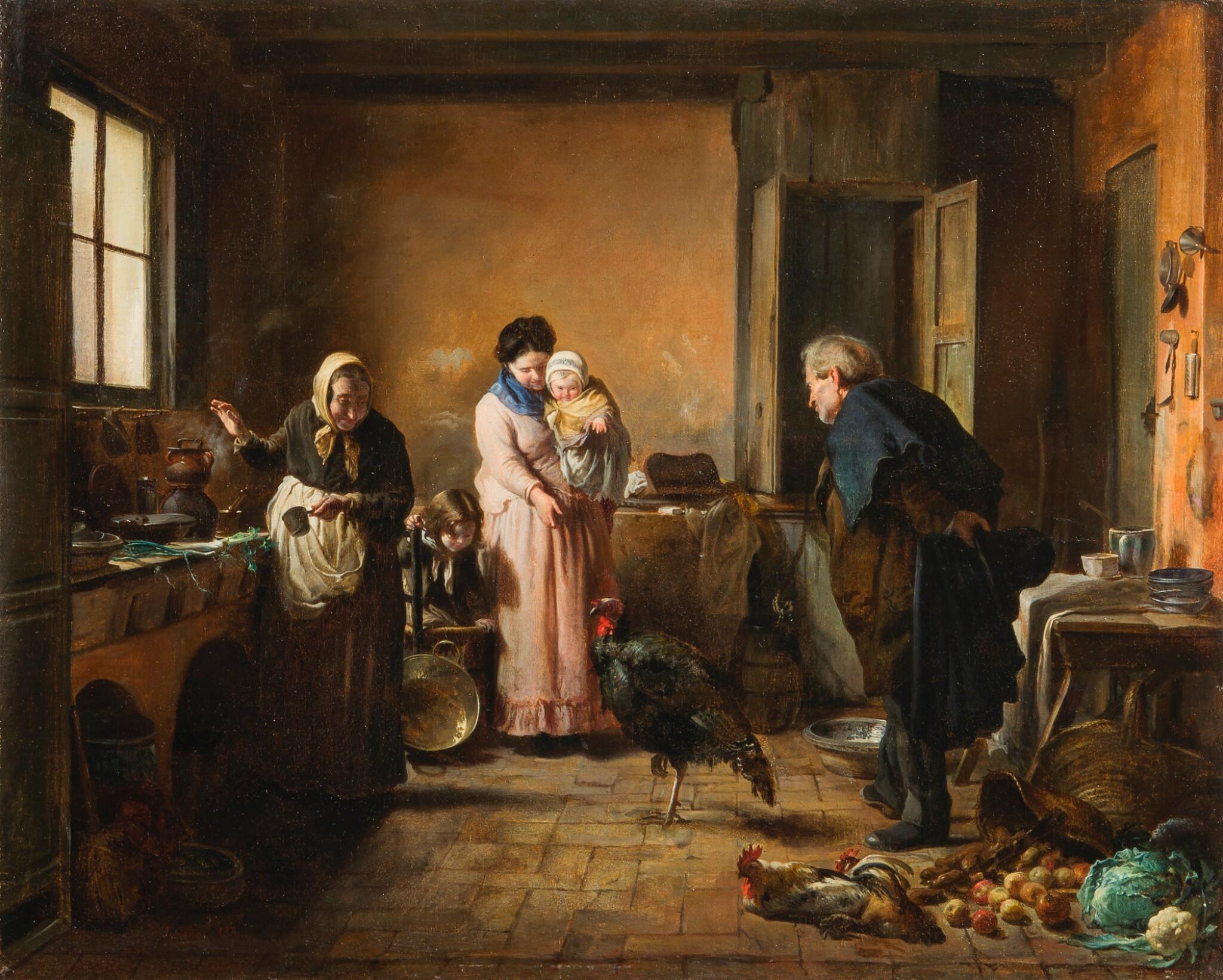 JOSÉ JIMÉNEZ Y ARANDA | El pavo de Nochebuena (The Christmas turkey)