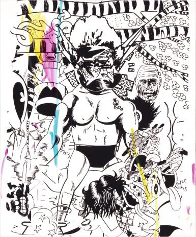 View 1. Thumbnail of Lot 20. GOKITA TOMOO | CHERRY BLOSSOM VIEWING HEAVEN.