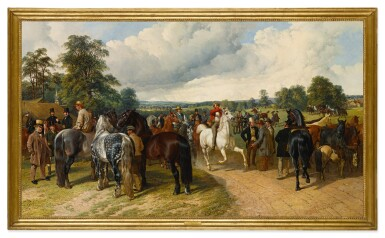 View 2. Thumbnail of Lot 678. A Horse Fair on Southborough Common.