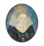 FRANCE, PROBABLY LATE 16TH CENTURY [FRANCE, PROBABLEMENT DE LA FIN DU XVIE SIÈCLE] | PORTRAIT OF A LADY [PORTRAIT D'UNE DAME]