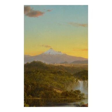View 2. Thumbnail of Lot 36. FREDERIC EDWIN CHURCH | SOUTH AMERICAN LANDSCAPE.