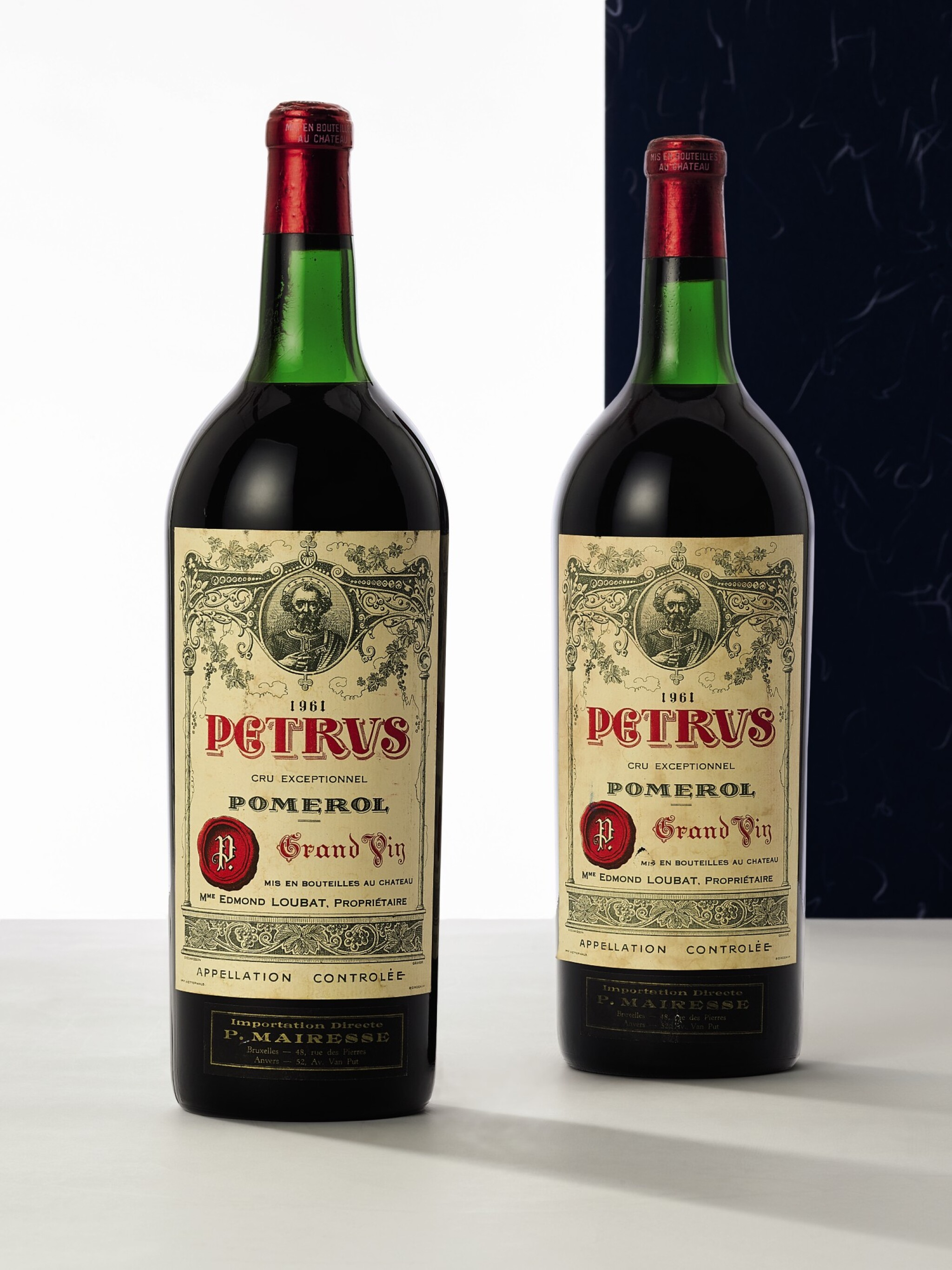 View full screen - View 1 of Lot 8032. Petrus 1961 (2 MAG) .