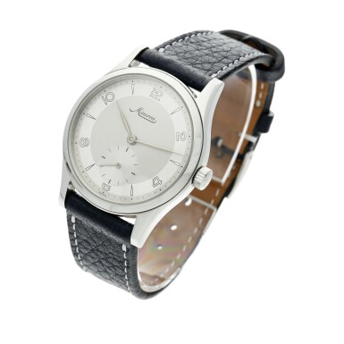 View 3. Thumbnail of Lot 115. Reference 48772 A stainless steel wristwatch, Circa 1997.