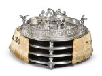 A SILVER SEDER COMPENDIUM, PROBABLY GERMAN OR AUSTRIAN, LATE 19TH CENTURY