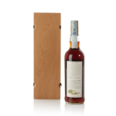 View 2. Thumbnail of Lot 28. The Macallan Fine & Rare 43 Year Old 46.7 abv 1959 .