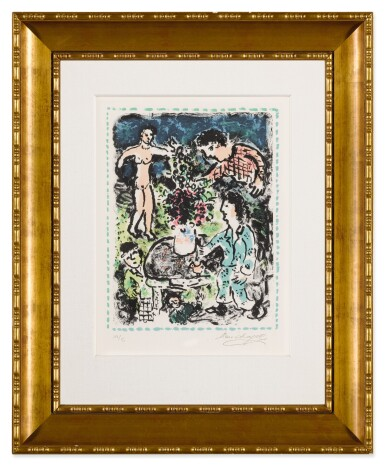 View 9. Thumbnail of Lot 32. Quinze Dernières Lithographies de Marc Chagall: 5 prints (M. 1035, 1036, 1038, 1042 and 1047).
