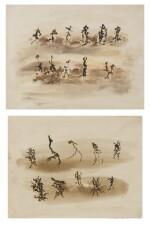 Henri Michaux | Sans Titre [2 oeuvres]