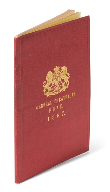 Boucicault--[Royal General Theatrical Fund], Proceedings at the Twenty-Second Anniversary Festival, 1867, first edition