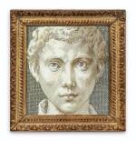 Tête de jeune homme, d'après Parmigianino