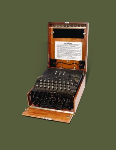 ENIGMA MACHINE   Operational Service Enigma (Enigma I), 1944