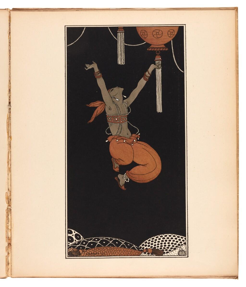 MIOMANDRE, FRANCIS DE | DESSINS SUR LES DANSES DE VASLAV NIJINSKY. PARIS: LA BELLE ÉDITION, 1913