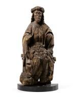 SOUTHERN GERMANY, FRANCONIA, CIRCA 1500   |  MAN OF SORROWS