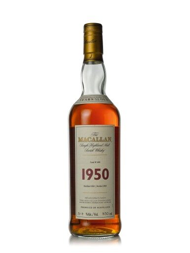 The Macallan Fine & Rare 52 Year Old 51.7 abv 1950 (1 BT75cl)