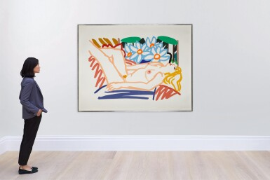 Claire with Wesselmann